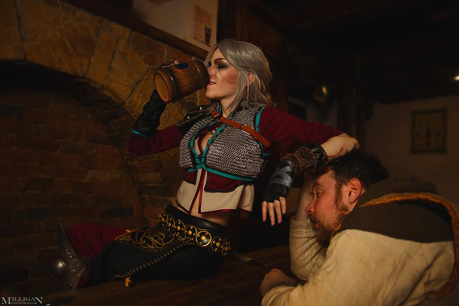 Jaw Dropping Ciri Cosplay from Witcher 3: Wild Hunt
