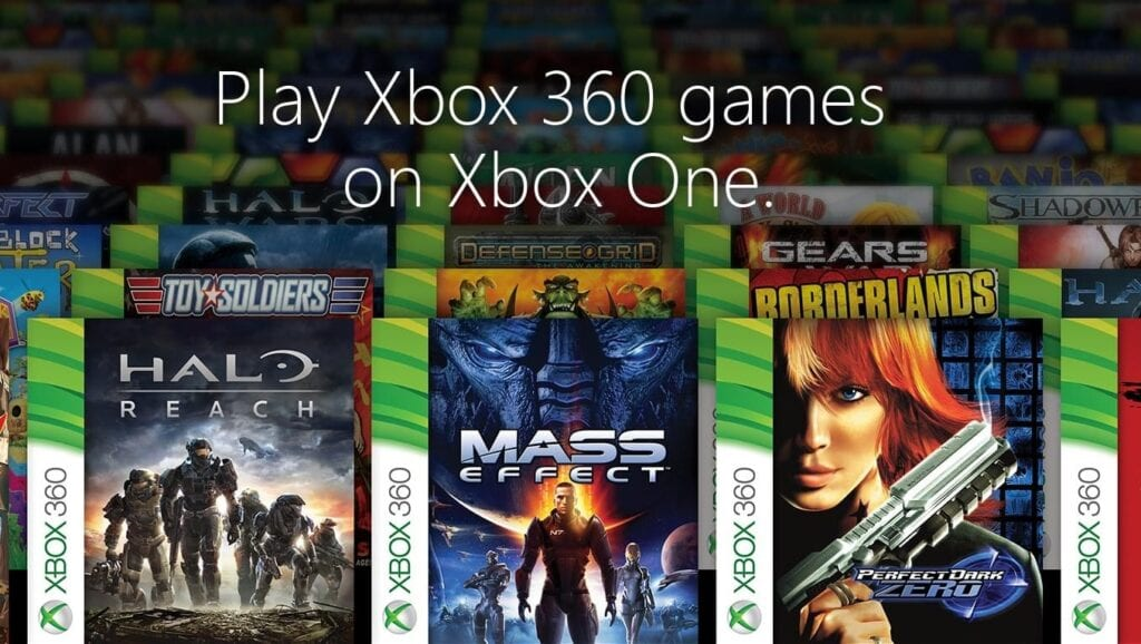 Complete List of All Xbox One Backwards Compatibility Games