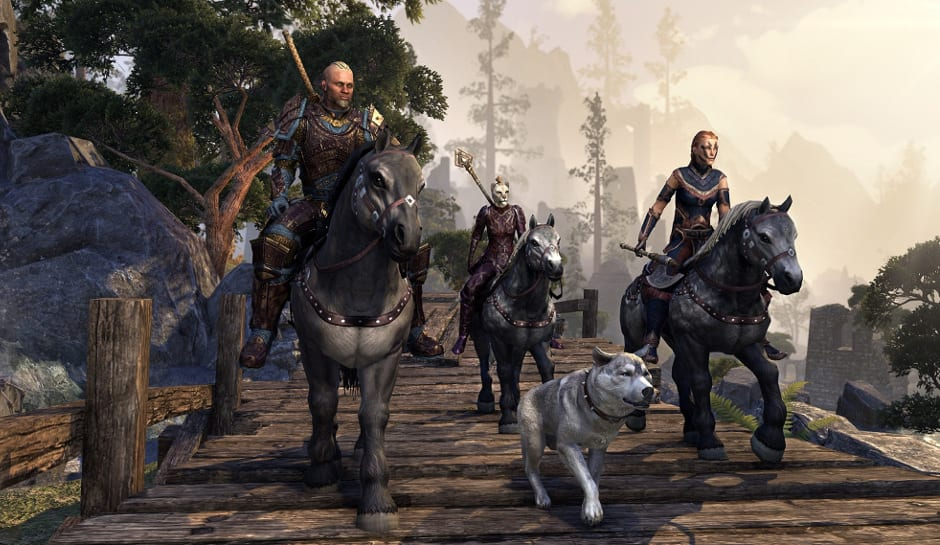 The Elder Scrolls Online Free Play Weekend Begins Today for PS4 and PC