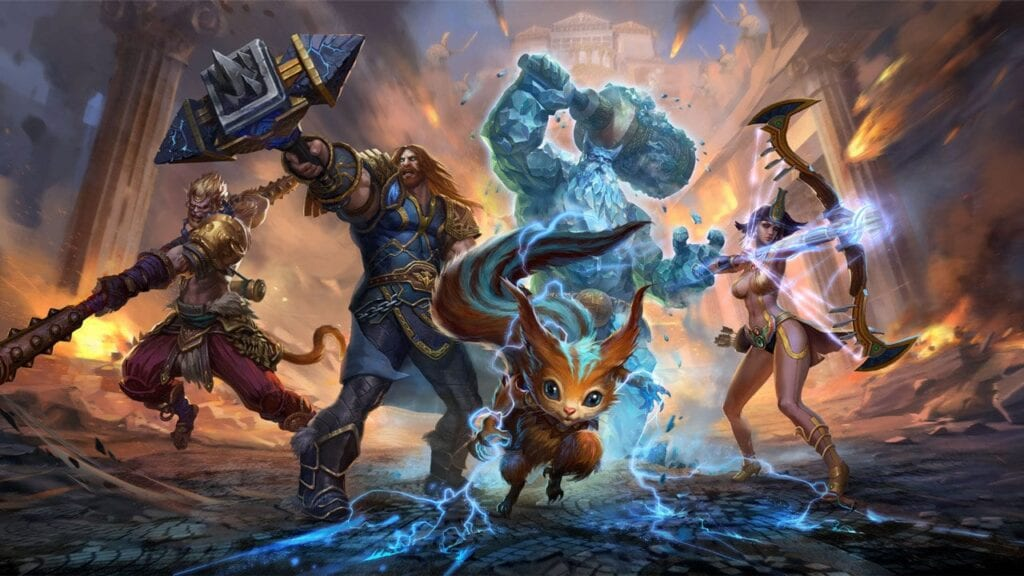 Newest Smite Patch Adds a New God, New Skins, and More - Don