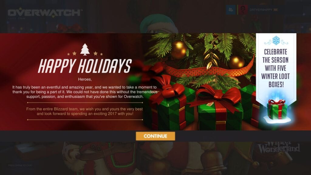 the winter wonderland event has been going on for a little while in our favorite first person shooter overwatch and now they are giving us the best