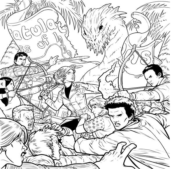 New Buffy The Vampire Slayer Colouring Book Is Out Now From Dark Horse