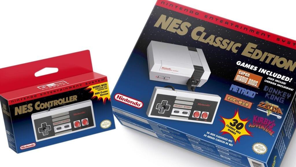 NES Classic Consoles