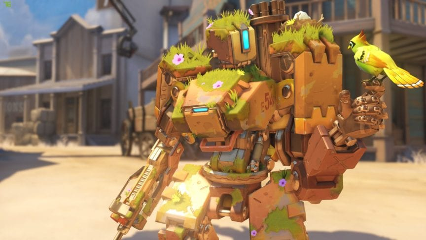 Overwatch Patch reworks Bastion