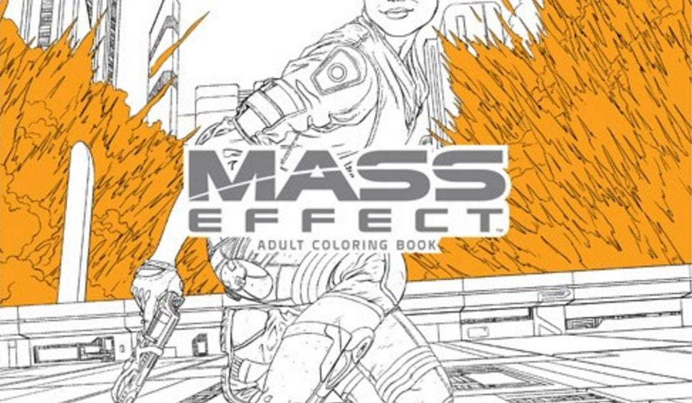 Mass Effect Andromeda Coloring Book