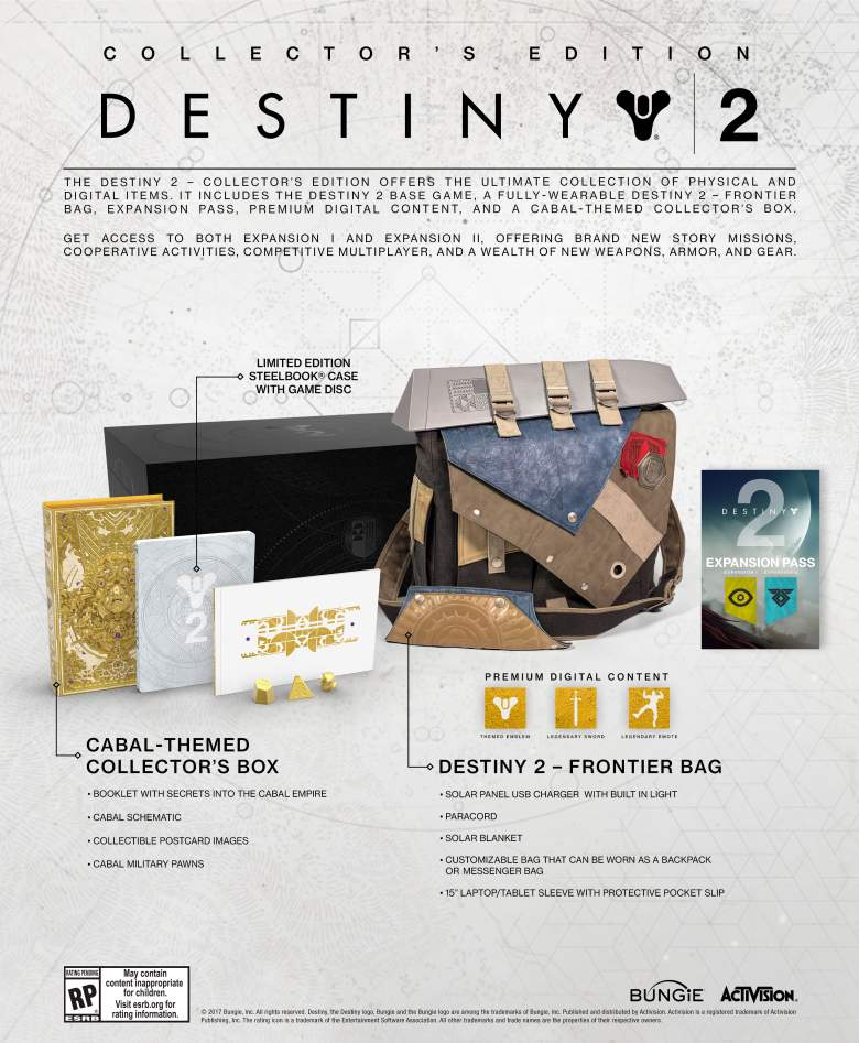 Destiny 2 Collector's Edition