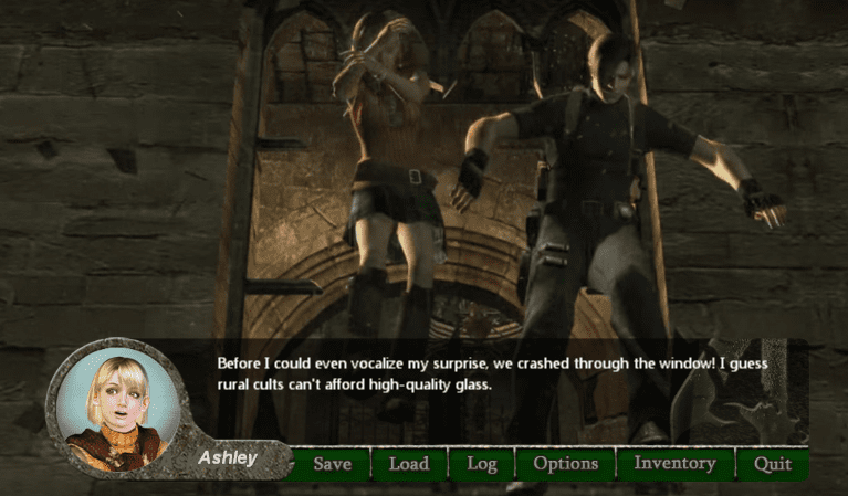 There's a Resident Evil 4 Dating Sim Because Of Course There