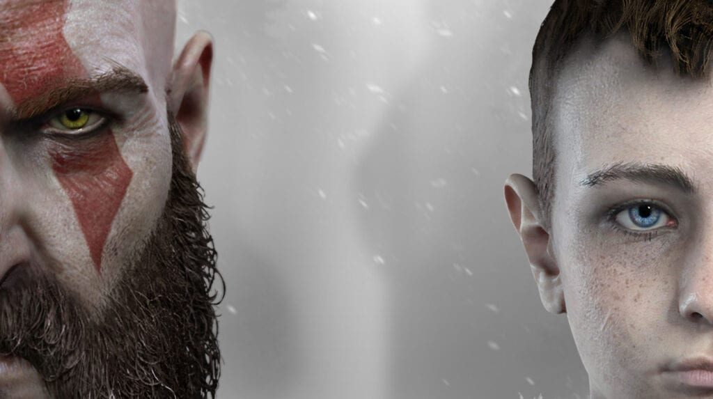 Image result for god of war kratos and atreus