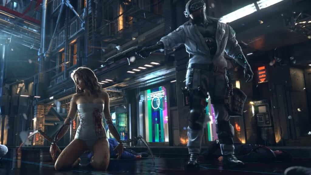 cyberpunk 2077 the witcher tv series netflix