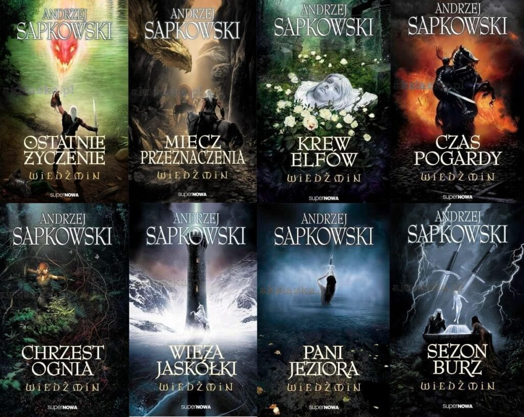 books the witcher tv series netflix
