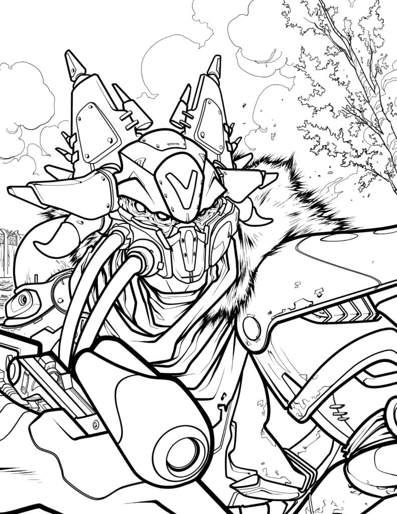 Official Destiny Coloring Book by Bungie is Scheduled to Launch in ...