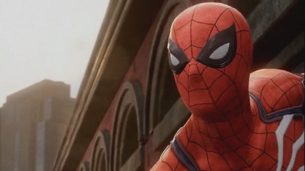 Insomniac S Spider Man Gameplay Premiered At Sony S E3 Press