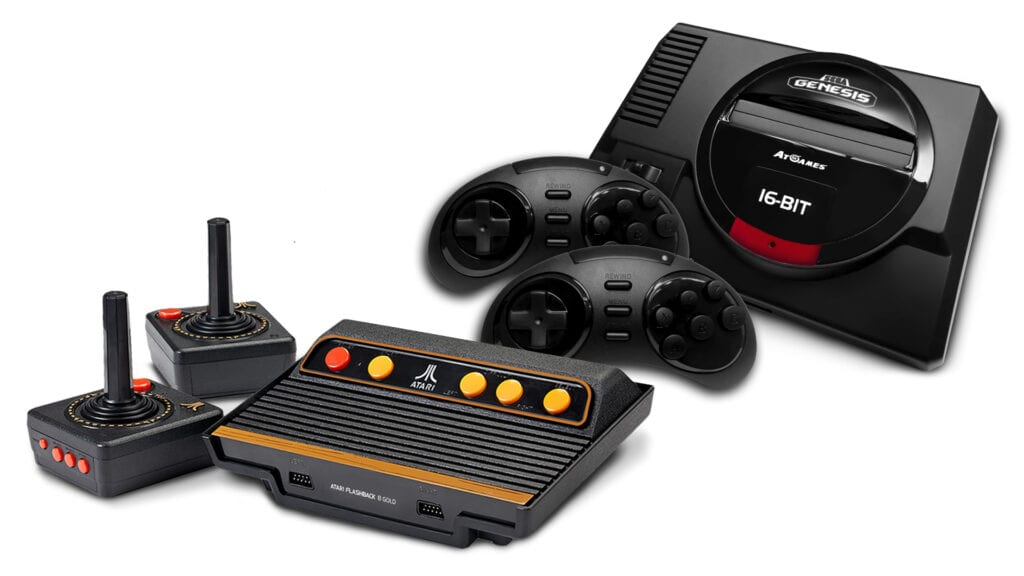 Mini Retro Consoles Coming From Sega and Atari This Fall