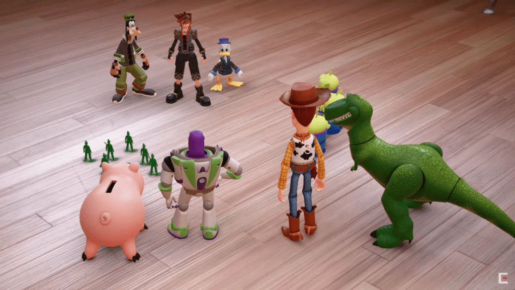 Toy Story kingdom hearts 3