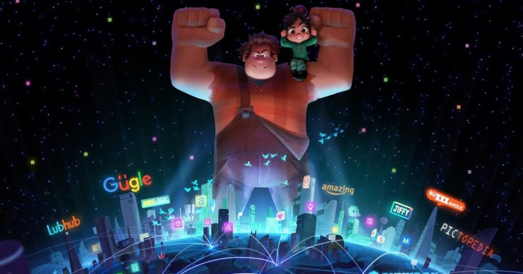 Wreck It Ralph 2 footage