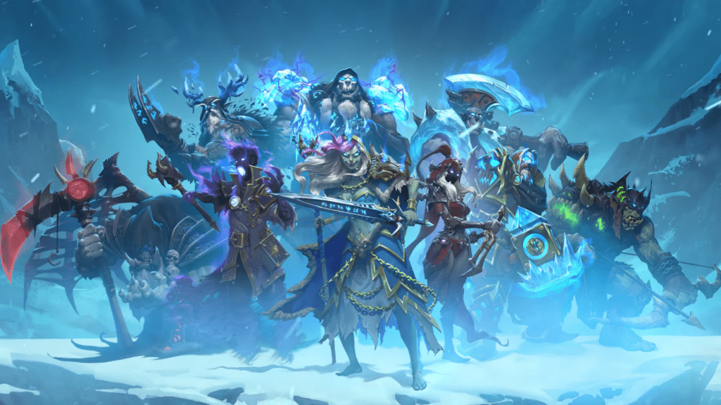 Knights Of The Frozen Throne Wallpaper: Hearthstone's Knights Of The Frozen Throne Expansion