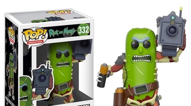 Pickle Rick Funko