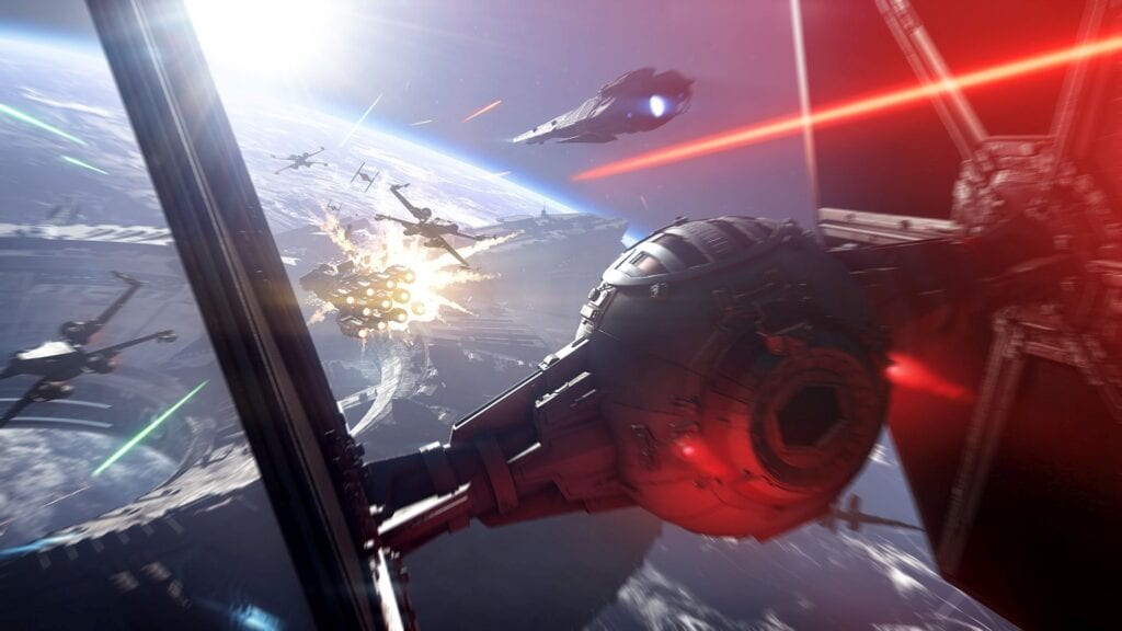 Battlefront 2 Trailer Leak Highlights Epic In-Engine Space Battles