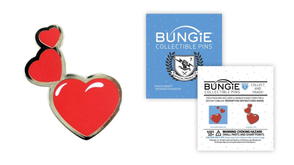 Exclusive Bungie Foundation Pin Goes on Sale to Aid Houston