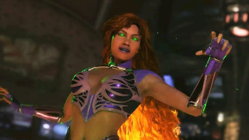 Starfire Heads to Injustice 2 Today – Moveset and Shaders Revealed (VIDEO)
