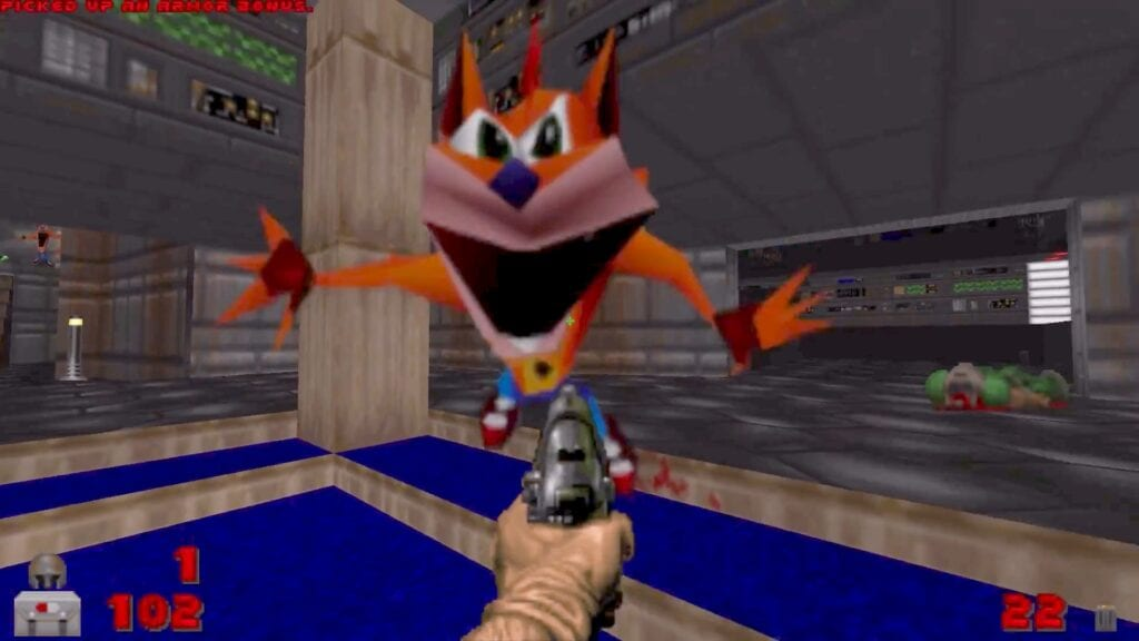 Crash Bandicoot Doom Mod Exists Complete With Fidget Spinners (VIDEO)