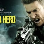 Chris Redfield in 'Not a Hero'