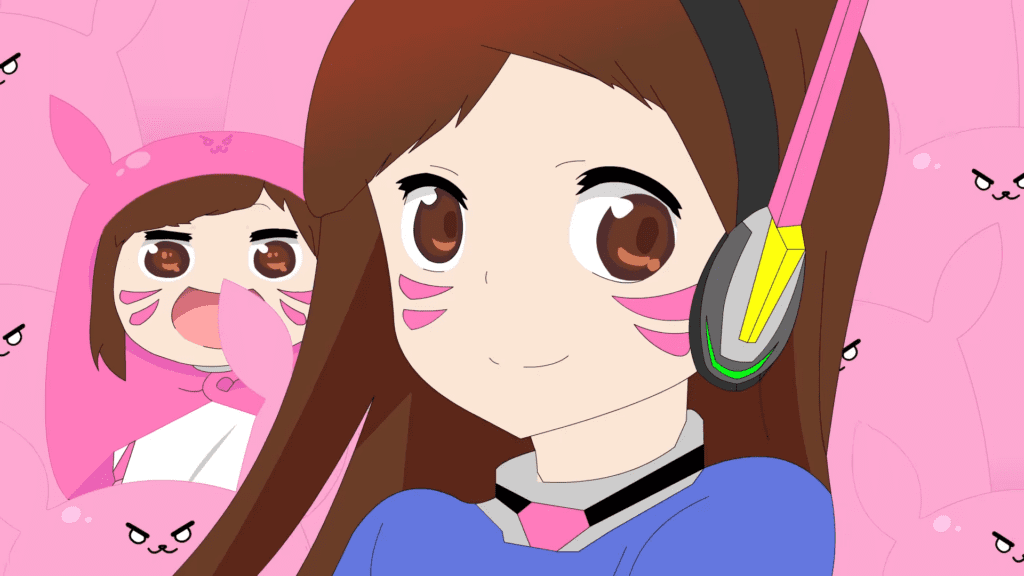 Blogger glayer from korea created a short video that combines d va and anime perfectly the overwatch anime himouto umara chan mashup is based on the