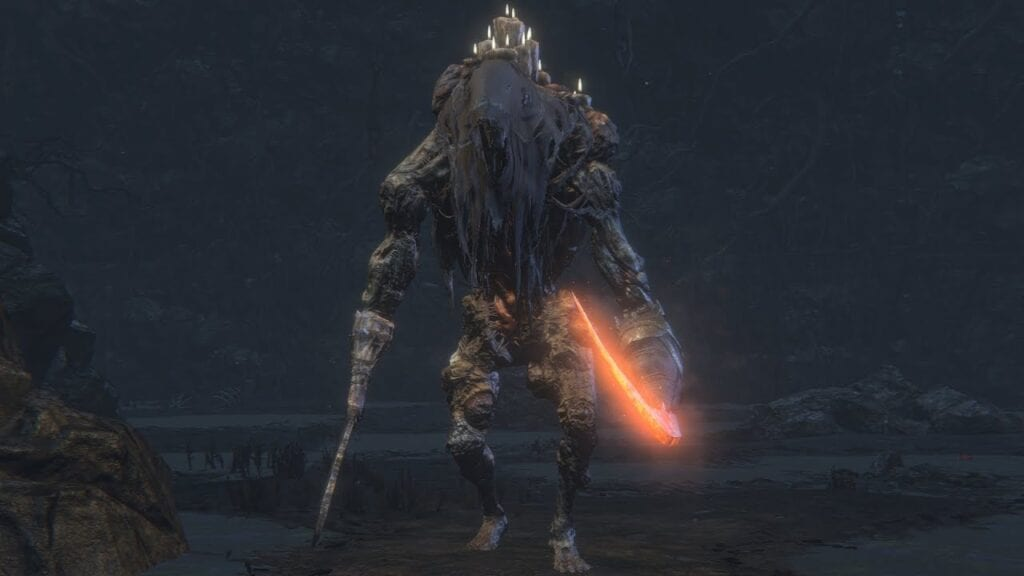Rare Bloodborne Enemy discovered