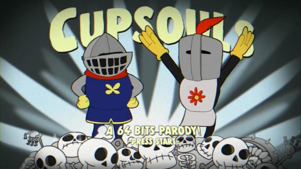 Love Each Other When Two Souls: Cupsouls: The Cuphead Dark Souls Crossover We Didn't Know