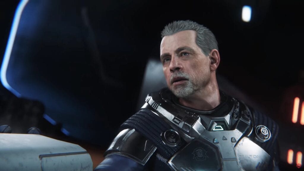 Star Citizen Single Player Trailer Featuring Mark Hamill