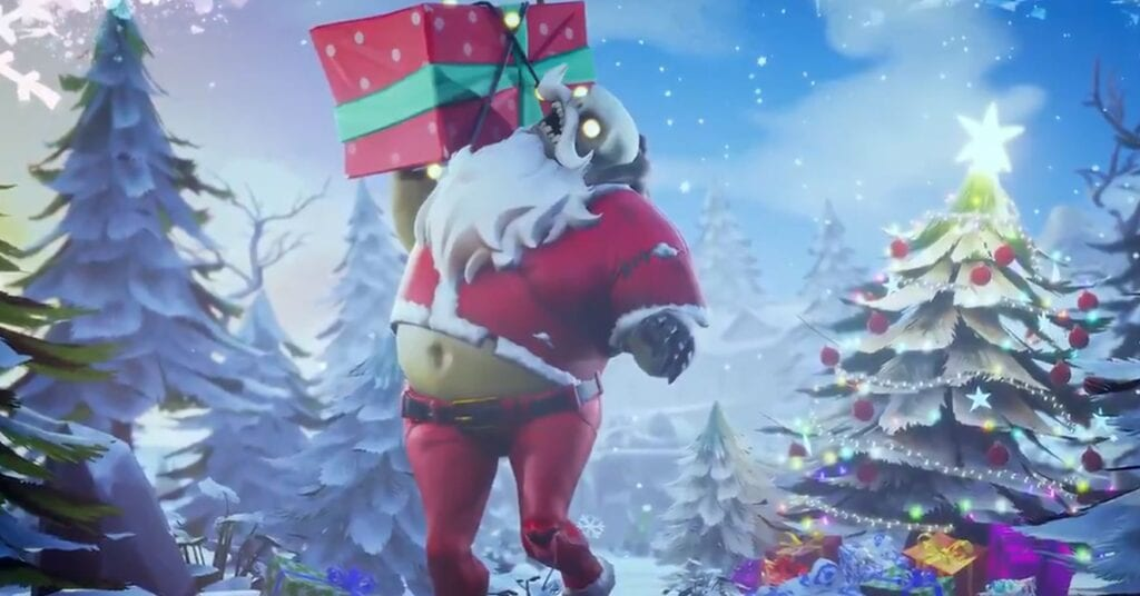 Fortnite Winter Wonderland Exploding Presents New Toys And More