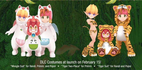 Secret of Mana Remake Pre-Order content