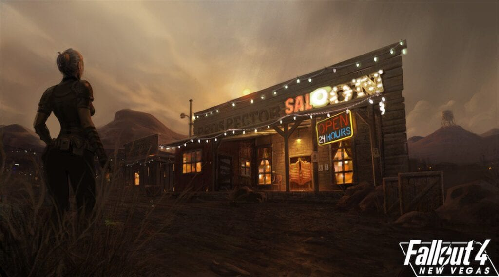 Fallout 4 New Vegas Mod Developers Release Update and
