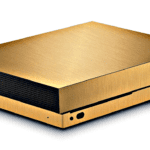 Gold-plated Xbox One X
