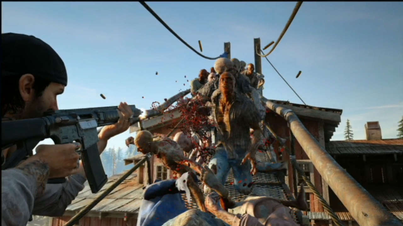 Days Gone Zombie Horde AI