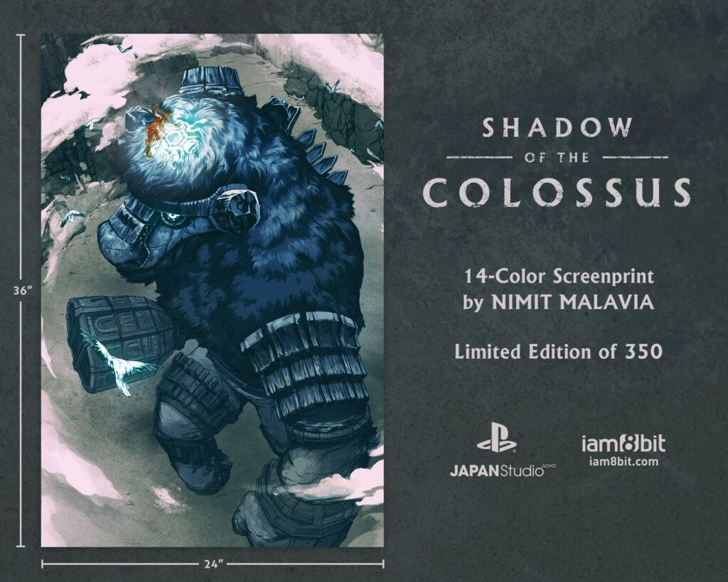 Shadow Of The Colossus Vinyl Soundtrack And Beautiful Art