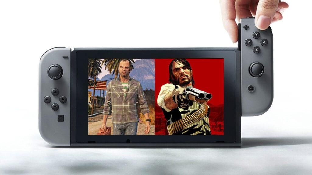 Switch Grand Theft Auto V