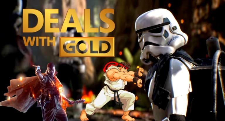 New Xbox Live Deals With Gold