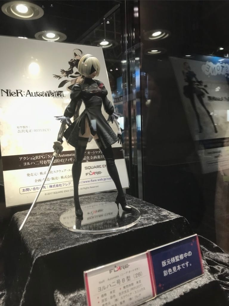 Premise Indicator Words: NieR Automata: Beautiful 2B Figure Revealed At Wonder