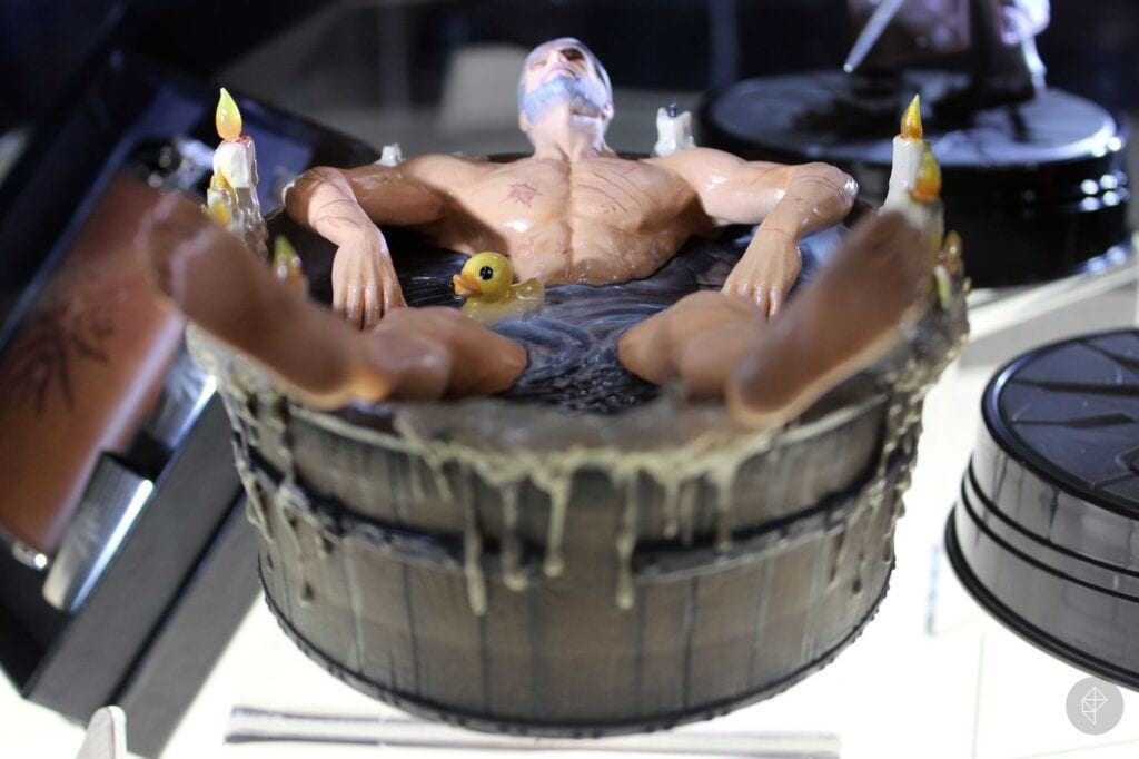 The Witcher 3 Bathtub Geralt Statue Is Now A Thing