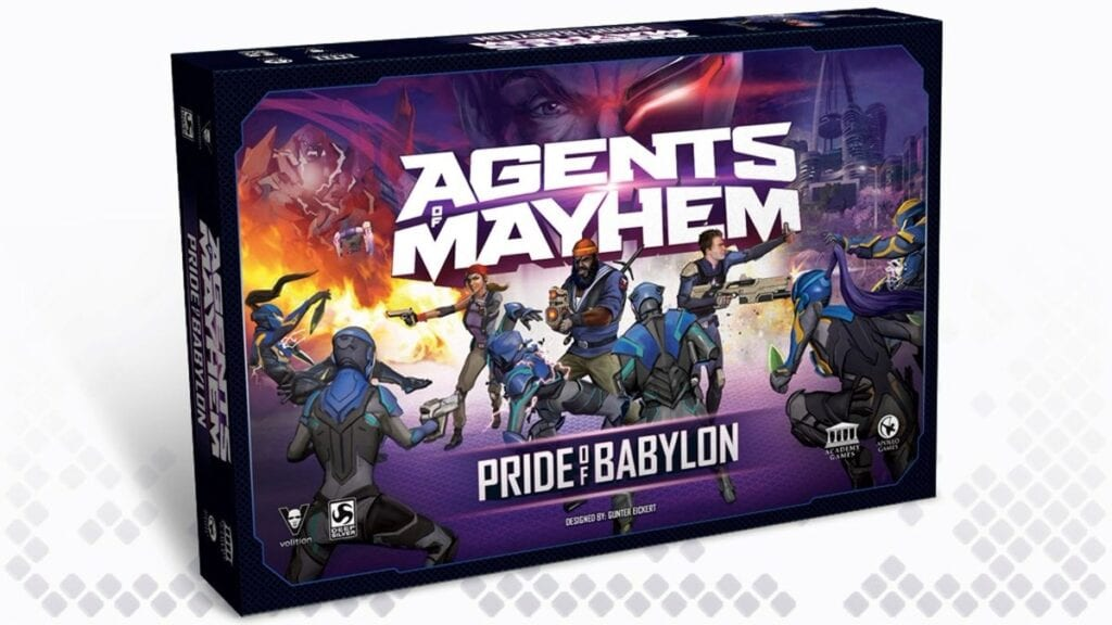 Agents of Mayhem Tabletop game
