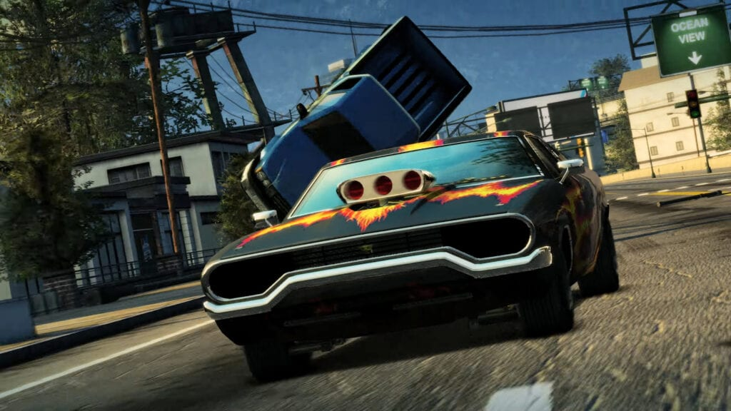 burnout paradise remastered announced with brilliant 4k trailer video. Black Bedroom Furniture Sets. Home Design Ideas