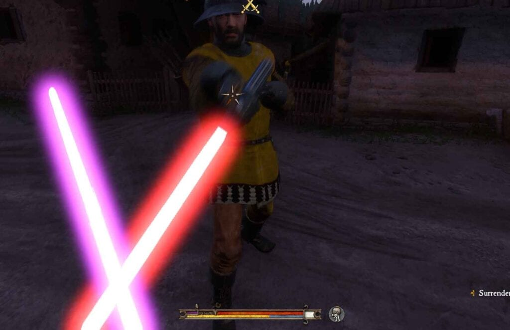 Kingdom Come Deliverance Lightsaber Mod Lets You Become A Jedi