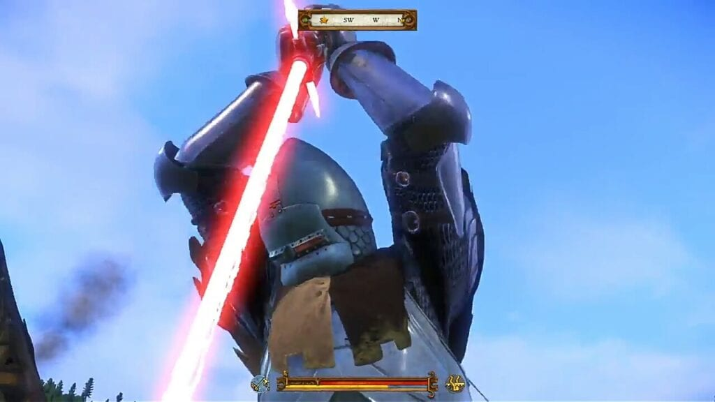 Kingdom Come Deliverance Lightsaber Mod