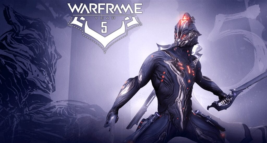 Warframe 5th Anniversary Celebration