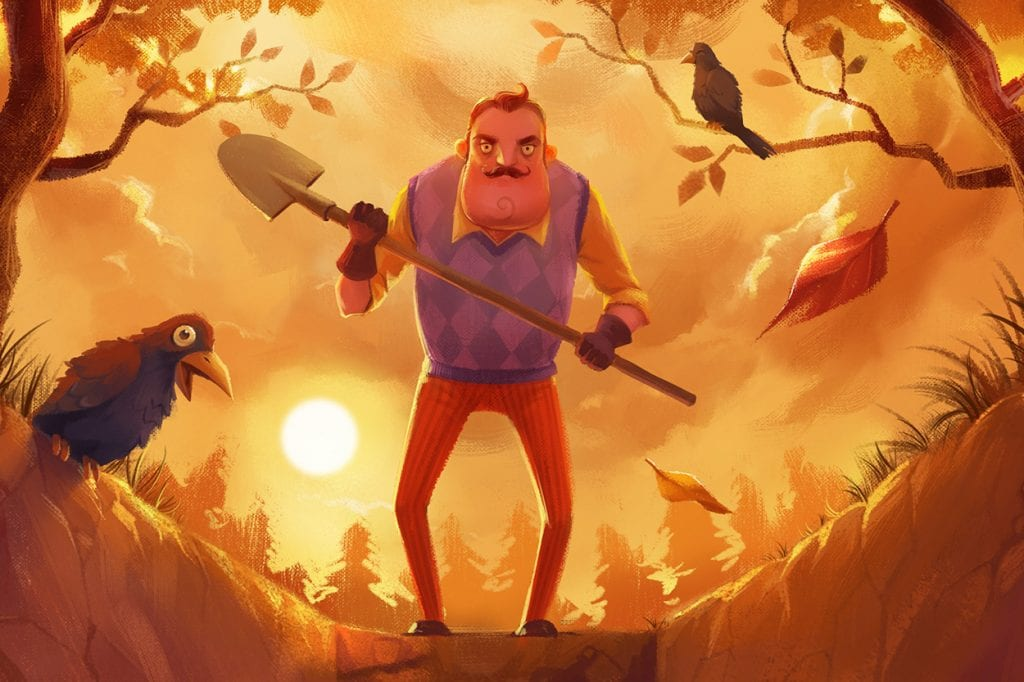Hello Neighbor Prequel Novel