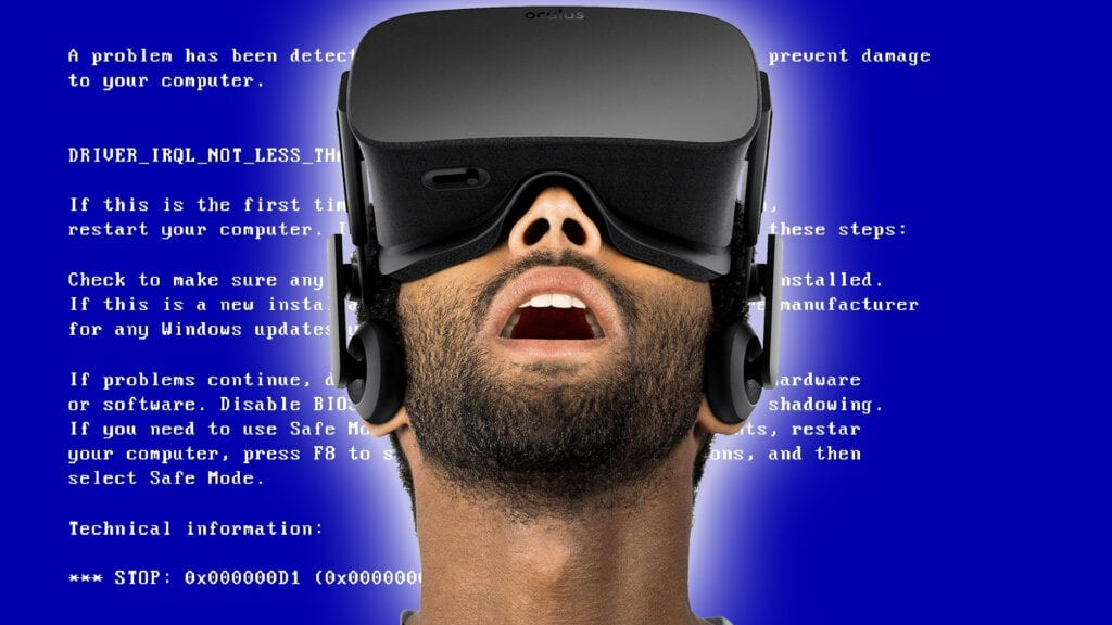 Oculus Rift Outage