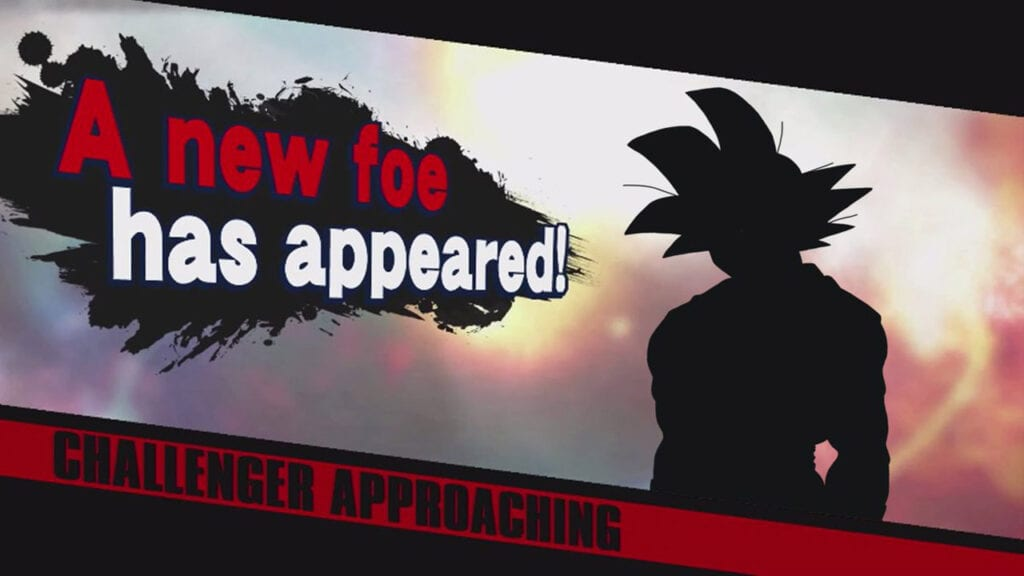 Son Goku no Super Smash Bros de Nintendo Switch