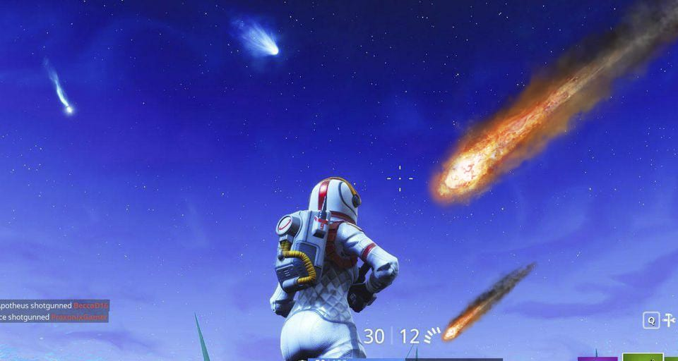 Fortnite Meteors Finally Come Crashing Down As Superheroes Are Teased
