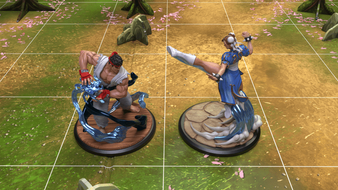 Street Fighter Board Game
